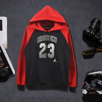 SIMPLE - Autumn Winter cotton hooded lovers' Outerwear Jacket Sweatshirt a13670
