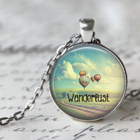Wanderlust Hot Air Balloon Necklace