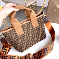 Free shipping-Fendi Mini Shopping Bag Tote Bag