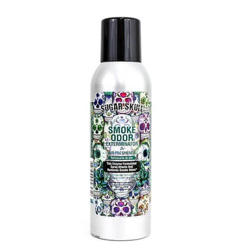Smoke Odor Exterminator & Air Freshener Spray Sugar Skull