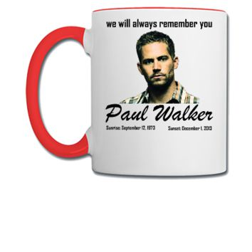RIP PAUL WALKER - Coffee/Tea Mug