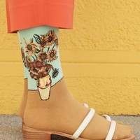 Van Gogh Sun flower Socks