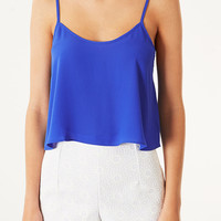 Cropped Soft Cami - Tops - Clothing - Topshop USA