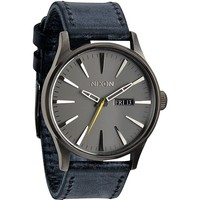 Nixon The Sentry Leather Watch - Mens Watches