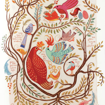 Stray Birds Art Print by Claire Keane