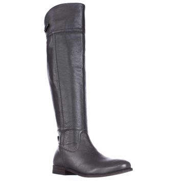 Franco Sarto Hydie Tall Riding Boots, Grey, 5 US / 35 EU