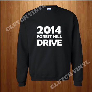 2014 Forest Hill Drive CrewNeck | J Cole newest Album