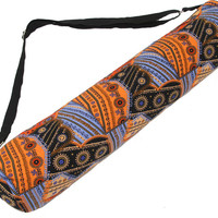 1781 Om Orange Yoga Mat Bag*