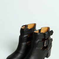 Livia Cut Work Ankle Boot
