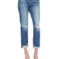 J Brand Jeans Destruction Jake Bohemia Boyfriend Jeans