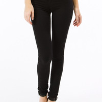 Black Denim Skinny Jeans