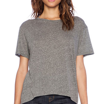 Enza Costa Boy Tee in Gray