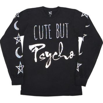 Cute But Psycho Long Sleeve Shirt