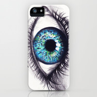 Iris iPhone & iPod Case by Krista Rae