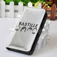 Bastille (1)   Music   Custom wallet case for iphone 4,4s,5,5s,5c,6 and samsung galaxy s3,s4,s5