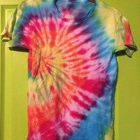 Unisex Children's Tye Dye Shirt - Size Large - Ready To Ship