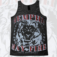 Memphis May Fire - Lion Tank Top | Merch Warehouse