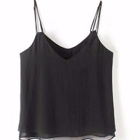 Double Strap Tank Top