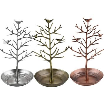 Jewelry Holders Retro earring Bird Tree Display Organizer Display