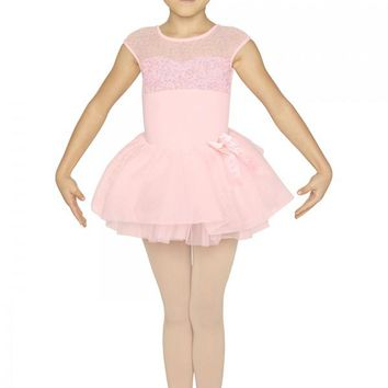 Tutu Skirt With Diamante Bow CR4841 by Bloch