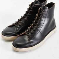 Frye Gates High-Top Shoe- Black