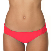 Sunsets Separates Melon Bikini - Side Shirred Bottom