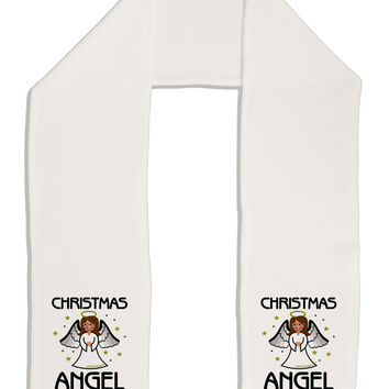 "Christmas Angel Adult Fleece 64"" Scarf"