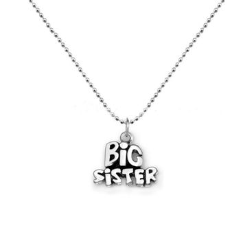 Big Sister Pendant Necklace For Women