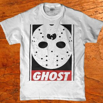 Wu tang Ghost face Jason voorhees Mask Men's t-shirt