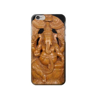 P1328 Ganesha Wood Caving Graphic Printed Case For IPHONE 6 Plus