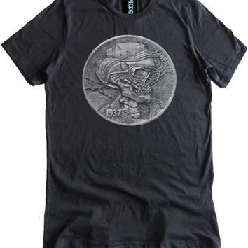 Hunter S. Thompson Hobo Nickel Premium Dual Blend Shirt