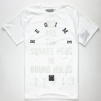 Civil Made Different Mens T-Shirt White  In Sizes