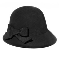 Croft and Barrow Bow Cloche Hat