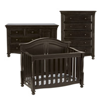 Bedford Monterey 3-pc. Baby Furniture Set - Chocolate