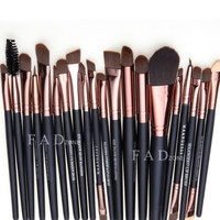Professional 20 Piece Makeup Brush Set Fad Zone Brand