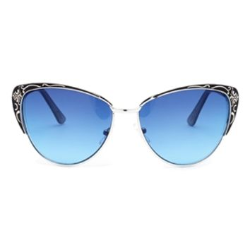 Jeepers Peepers Elma Aviator Sunglasses - Black
