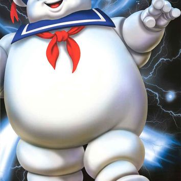 Ghostbusters Stay Puft Marshmallow Man Poster 24x36