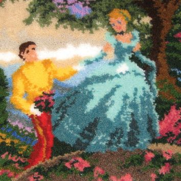 "Cinderella Wishes Upon A Dream Latch Hook Kit 21""X26"""