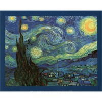 Vincent Van Gogh (Starry Night) Art Print Poster | Dorm Room Decor | OCM.com