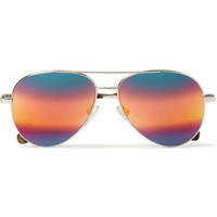 Cutler and Gross - Metal Aviator Mirrored Sunglasses | MR PORTER