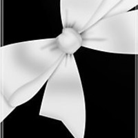 """Elegant White Bow"" iPhone & iPod Cases by GirlyGirl 