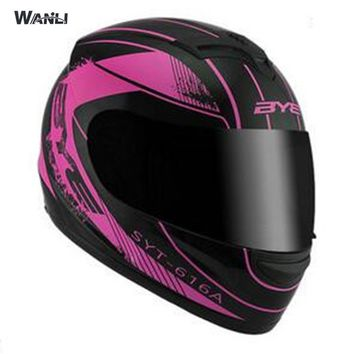 free shipping helmet new fashion motorcycle helmet with visor system fit for men women DOT approved S M L XL  1