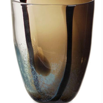 Glass Vase - Earth Tones