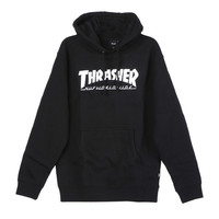 HUF X Thrasher Black Classic H Pullover