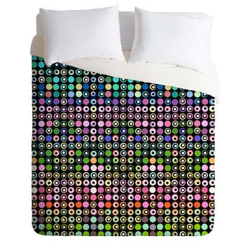 Lisa Argyropoulos Dot Matrix Duvet Cover
