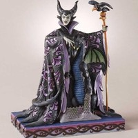 Disney Traditions by Jim Shore Maleficent with Dragon Figurine, 10-Inch