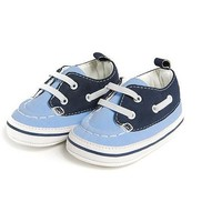 Child of Mine by Carters Newborn Baby Boy Boat Shoes - Walmart.com