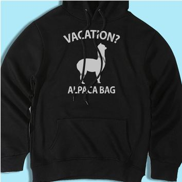 Vacation Alpaca Bag Men'S Hoodie
