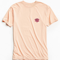 Embroidered Lotus Tee | Urban Outfitters