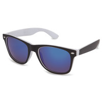 Blue Crown Dream On Classic Sunglasses Black/White One Size For Men 23132712501